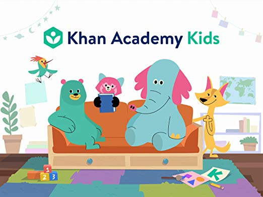Khan Academy Kids image with link to website