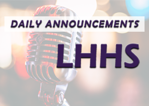daily announcements image