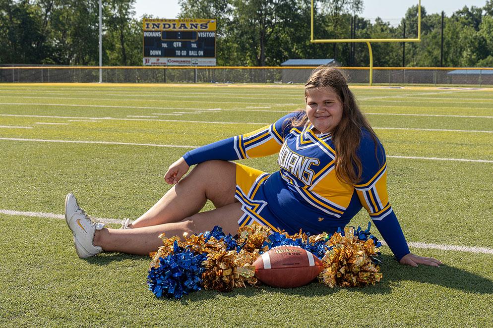 Sophomore Rebecca Hawke