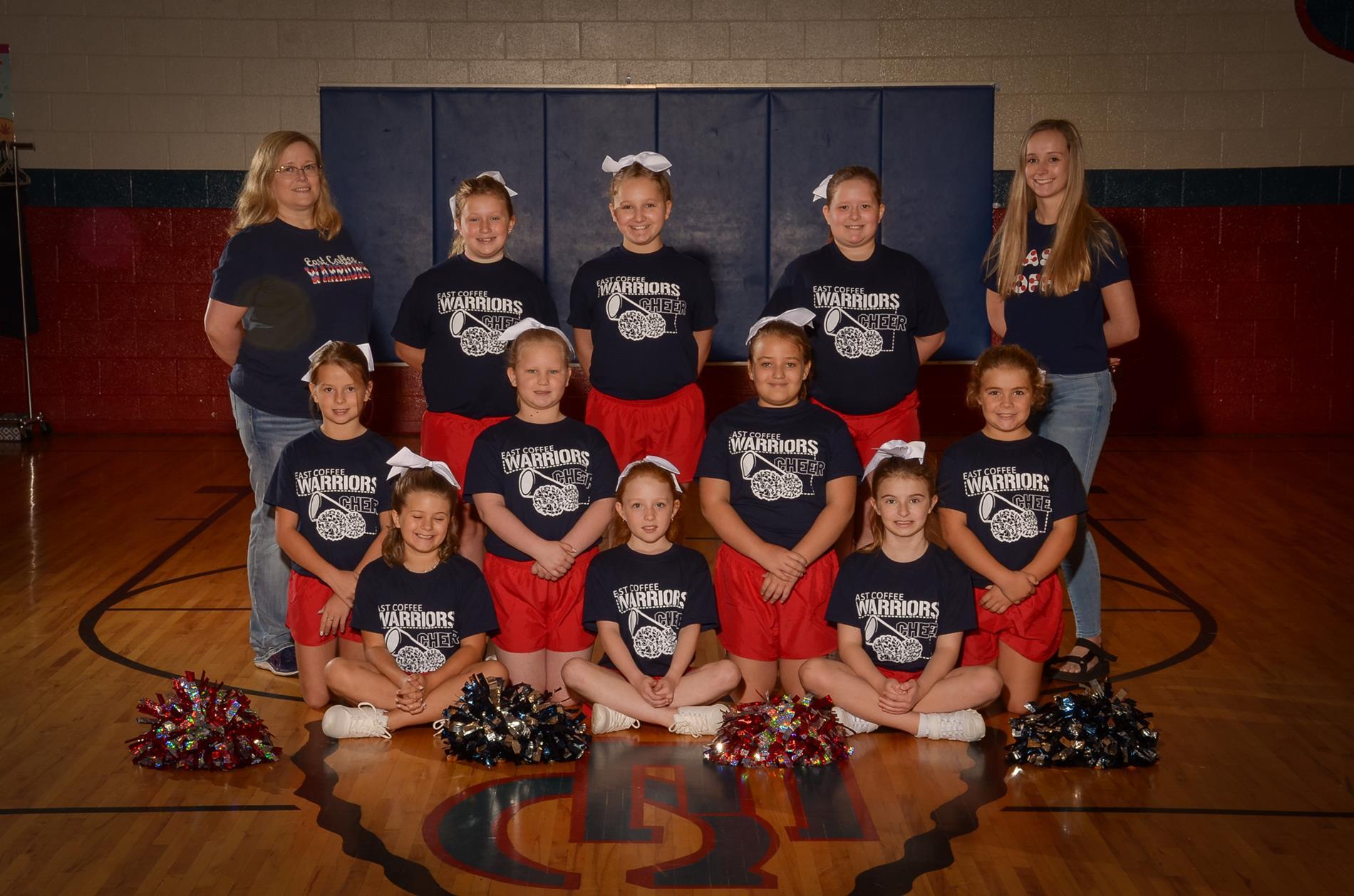 2020-2021 East Coffee Cheerleaders