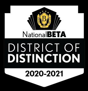 National Beta District of Distinction