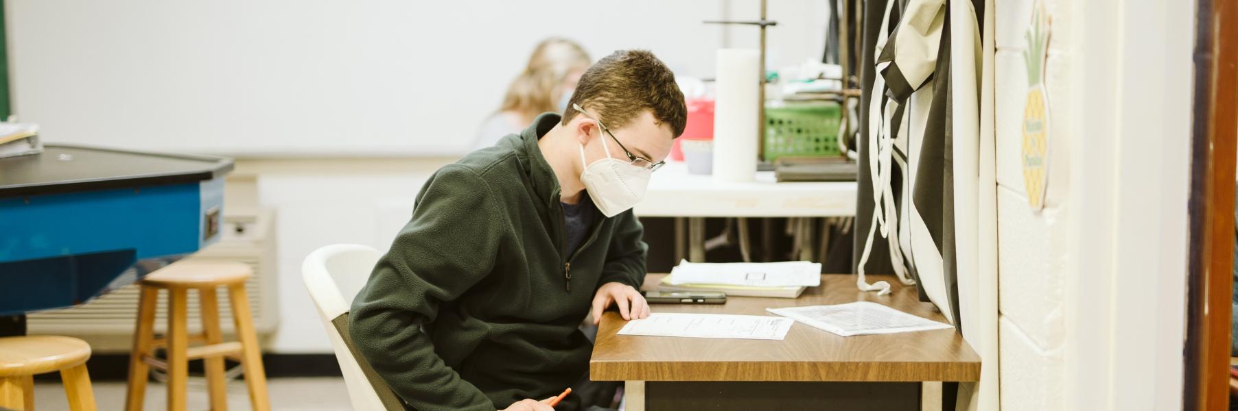Upper School Student Testing
