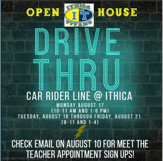 drive thru information