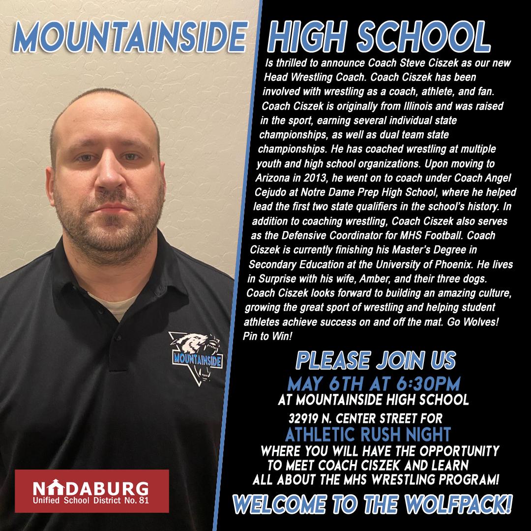 MHS Wrestling Coach