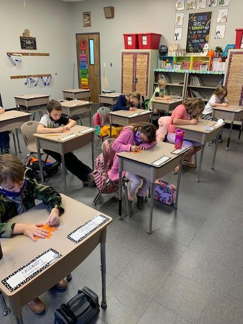 Mrs. Erin's class focuses in on phonics!