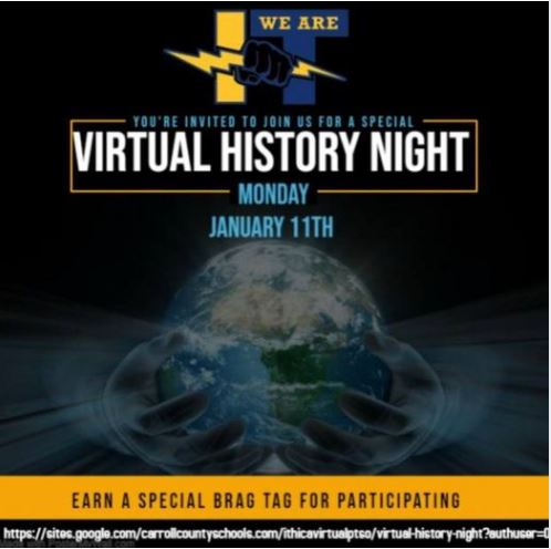 Virtual Night Flyer with Date, Time