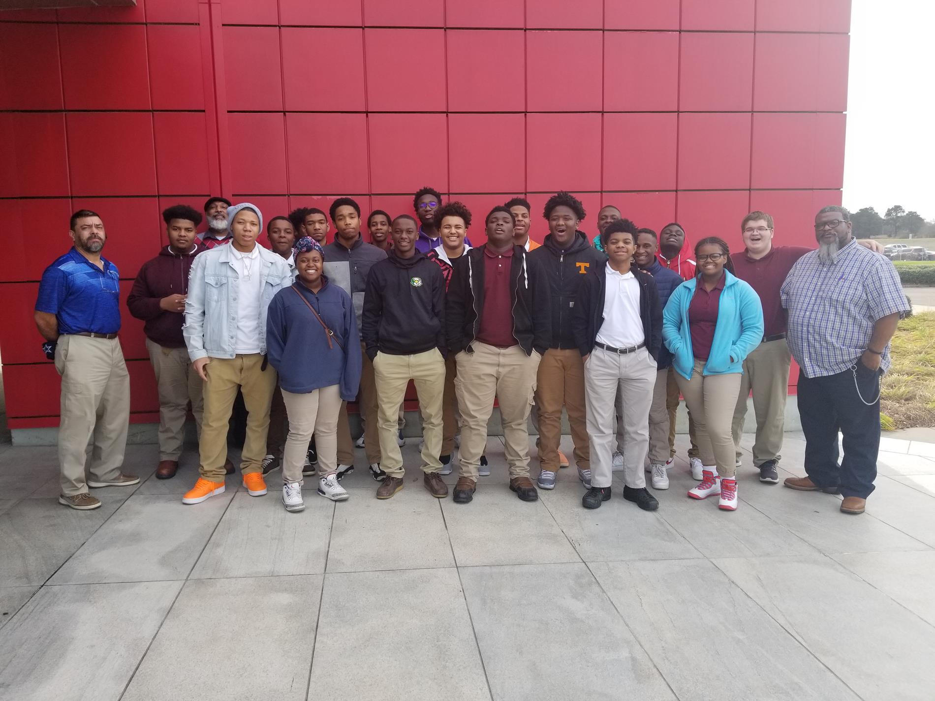 Skills USA group at Nissan Plant, Canton, MS