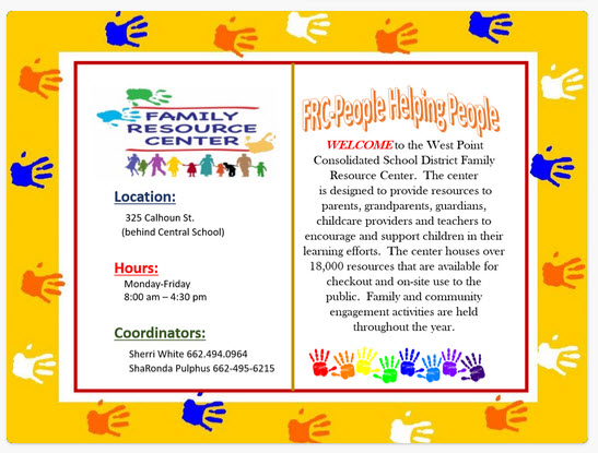 Family Resource Center Information