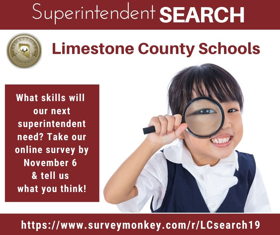 Survey for new superintendent