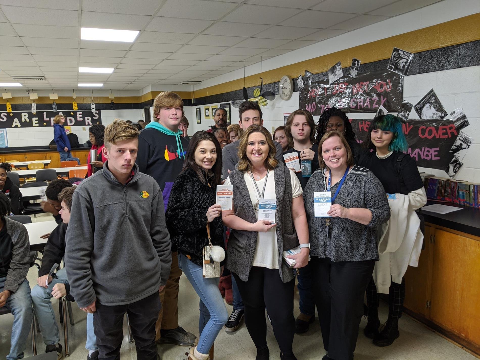 MCAC students learned about the benefits of 2020 Census