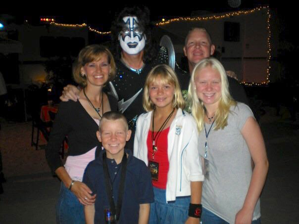 Backstage with Tommy Thayer of Kiss 27 July, 2007