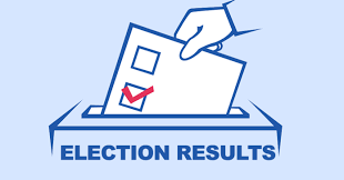 Election results picture