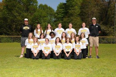 Softball Junior High Team