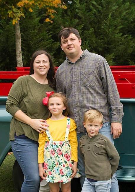 Kelly Haney, Heath Haney & children