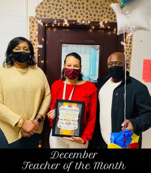 December Teacher