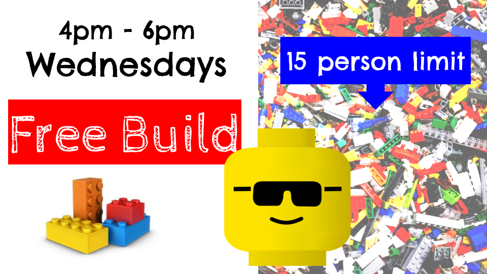 information on Lego Build Night at SFPl