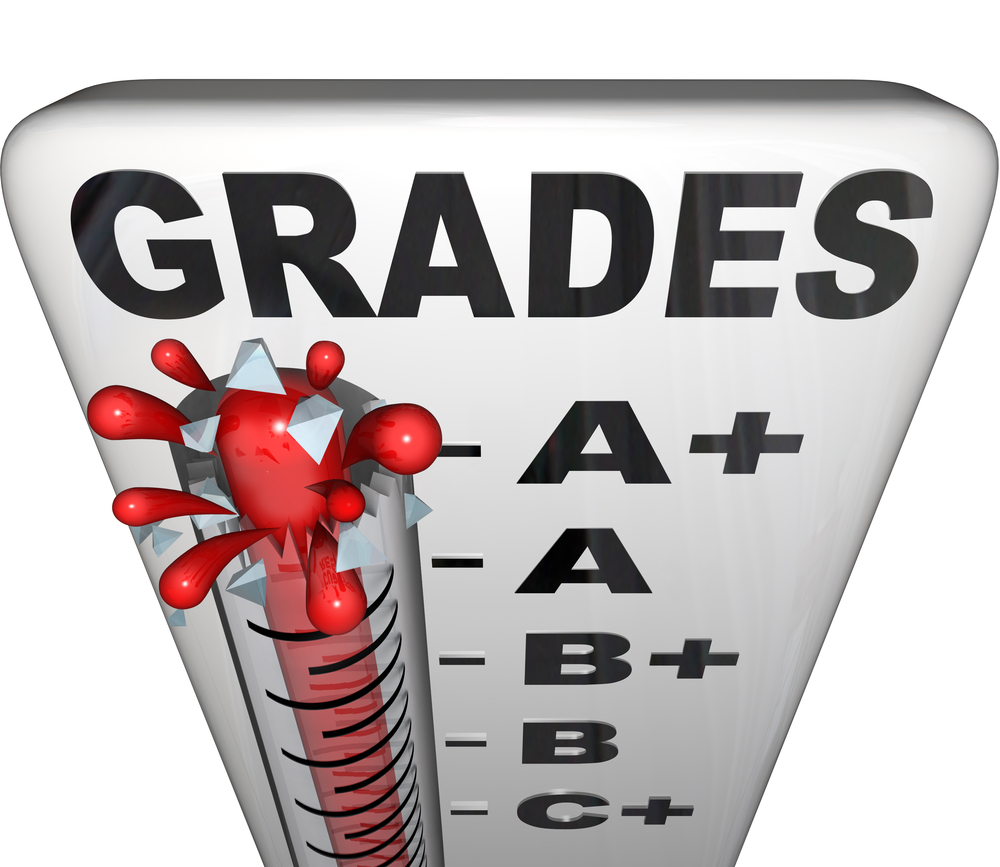 Image of grade thermometer
