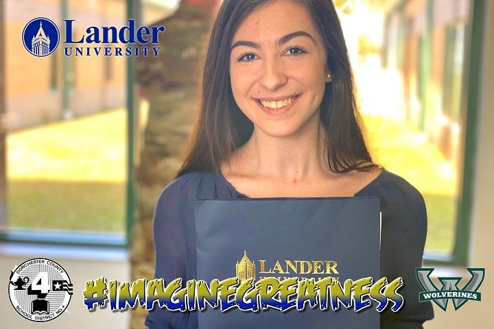 Emily Hilton Lander University Acceptance