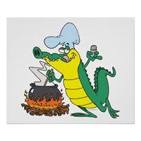 Alligator Cooking