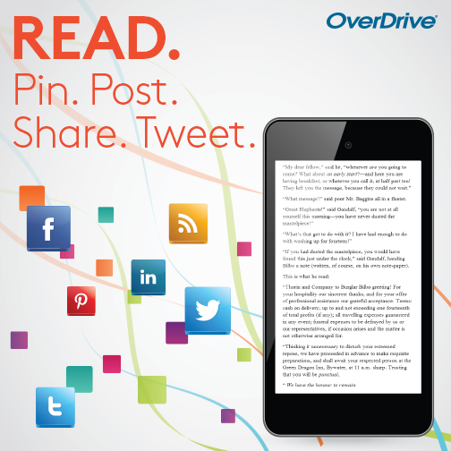 OverDrive for free ebooks from your library