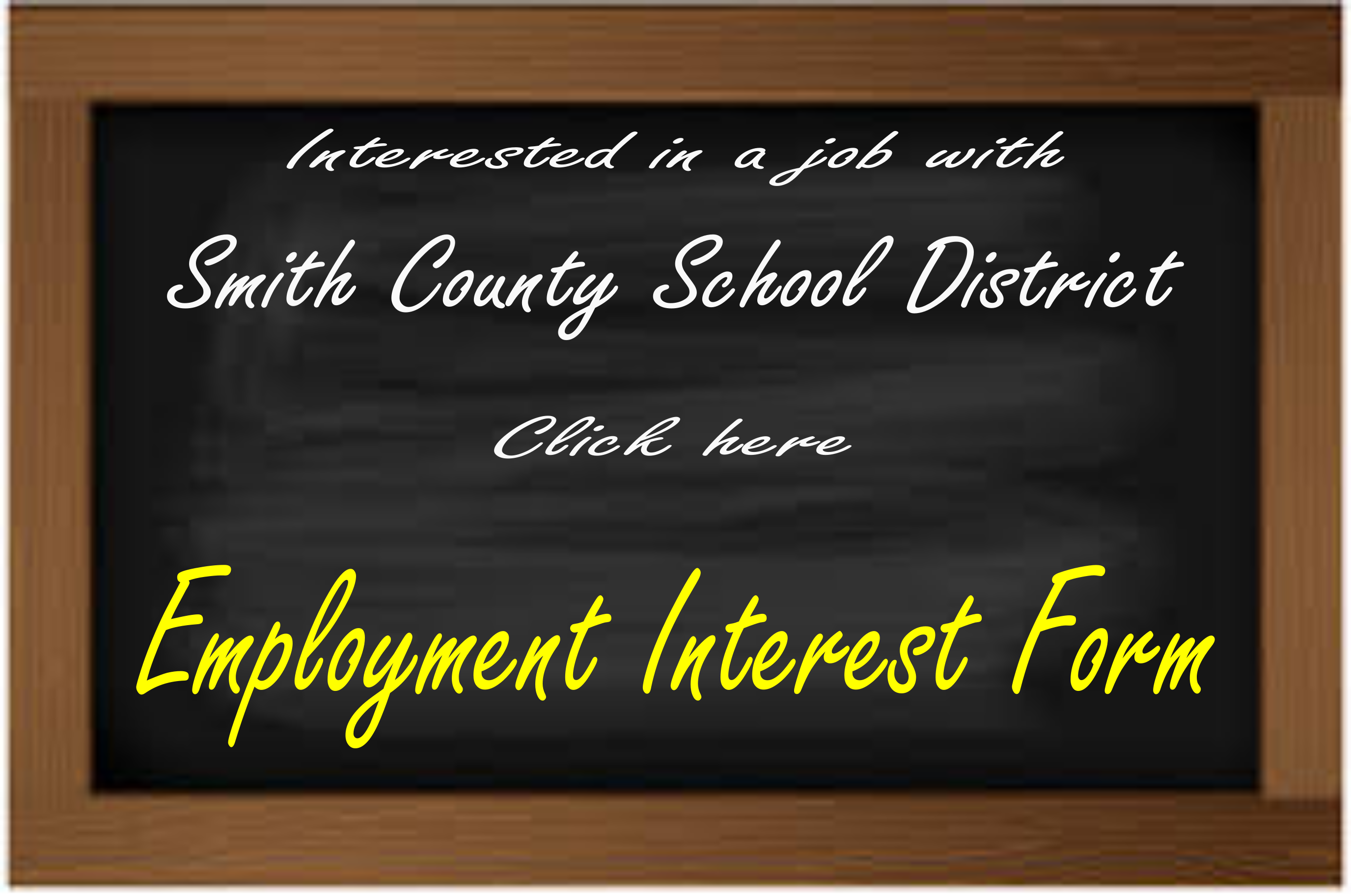 Employment Interest Form