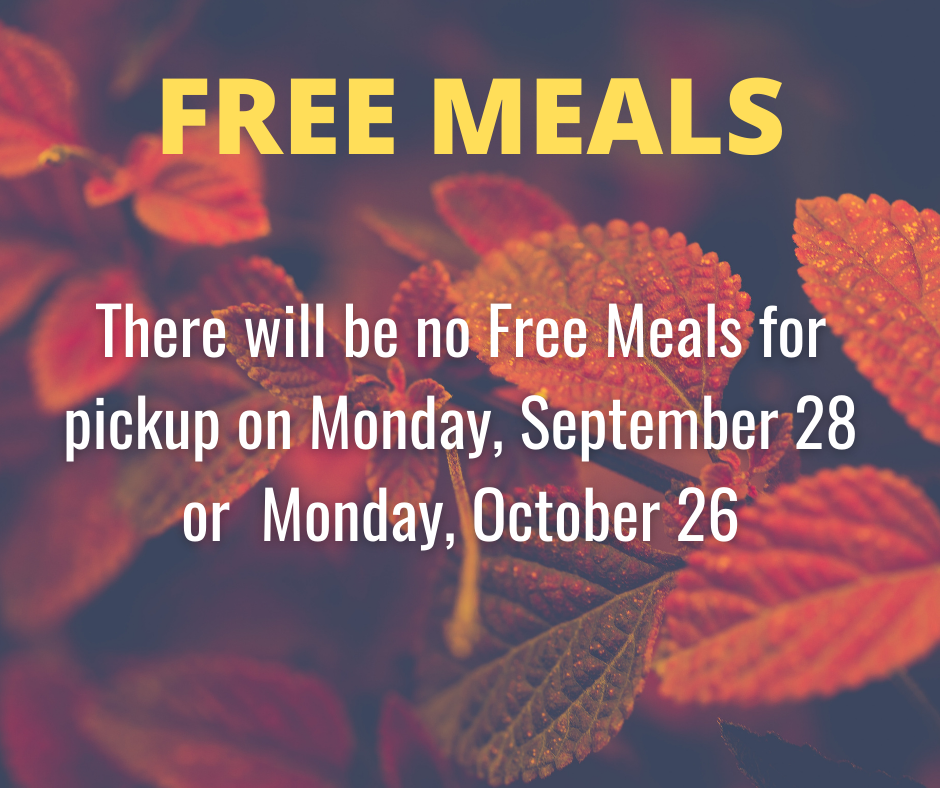 Free Meal Info