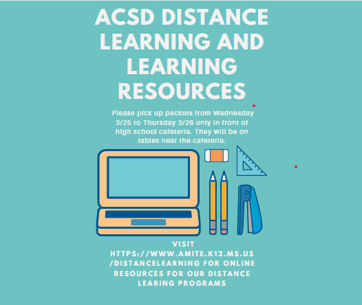 ACSD DISTANCE LEARNING