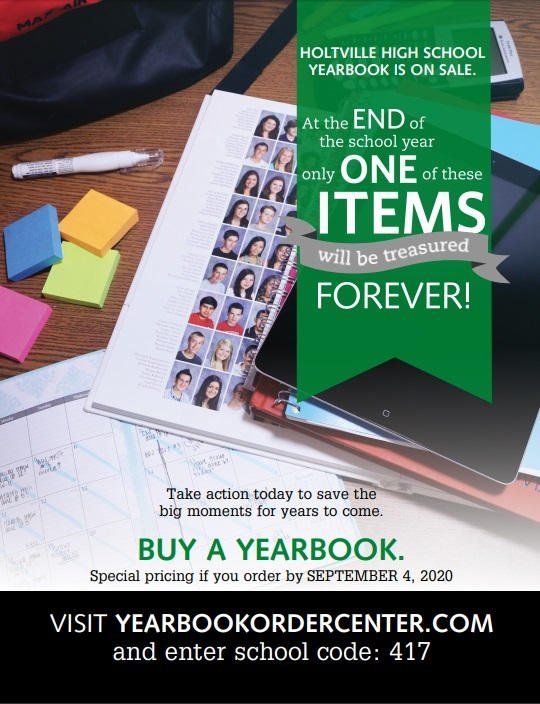 Order your 2020-2021 Yearbook Online Here
