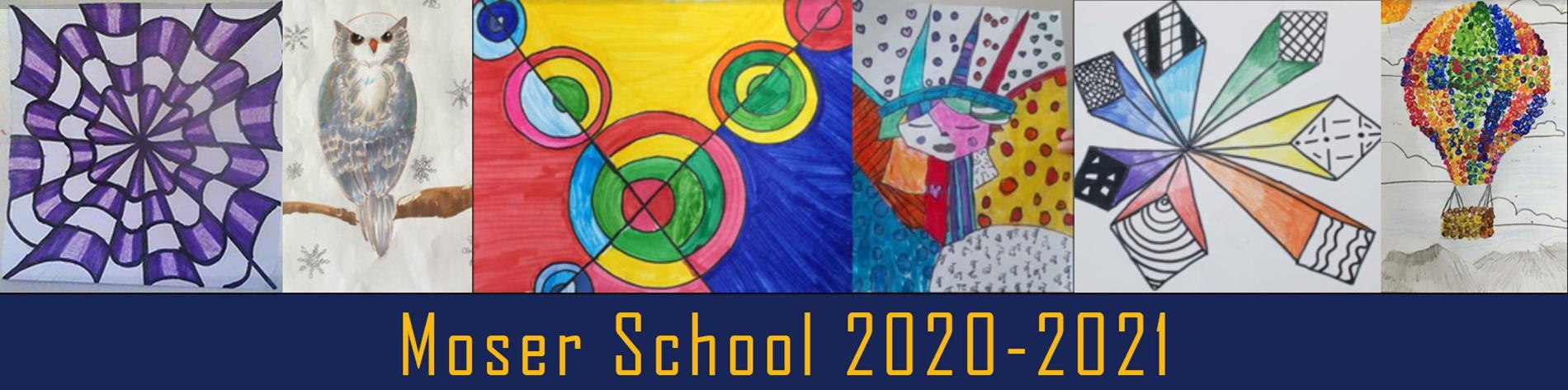 Artwork from Moser School