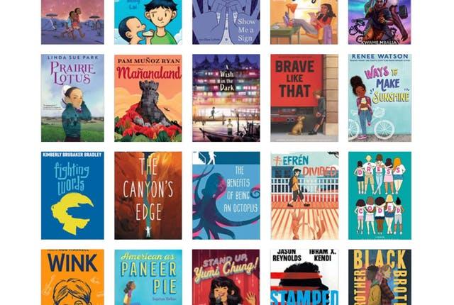 GA Children's Book Award Nominees 2021-2022