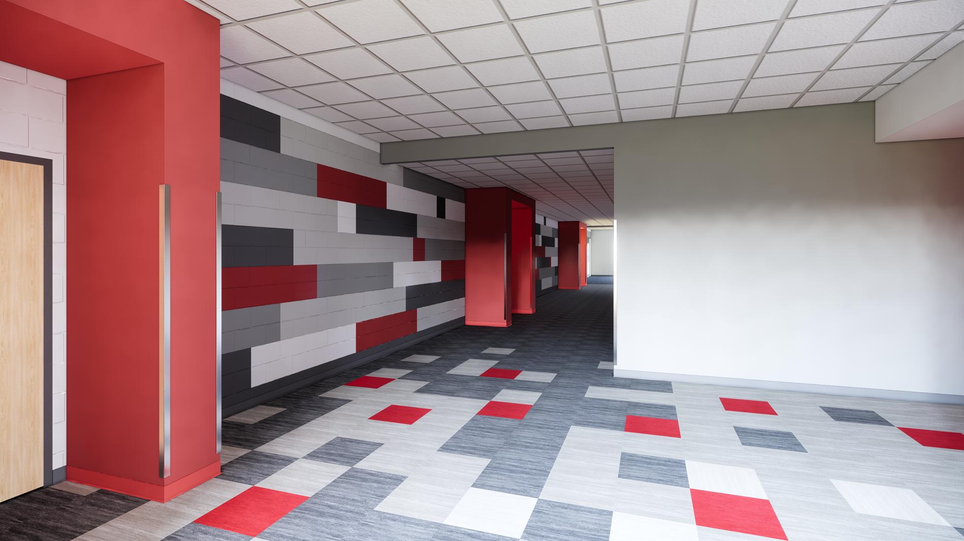 Gym Corridor