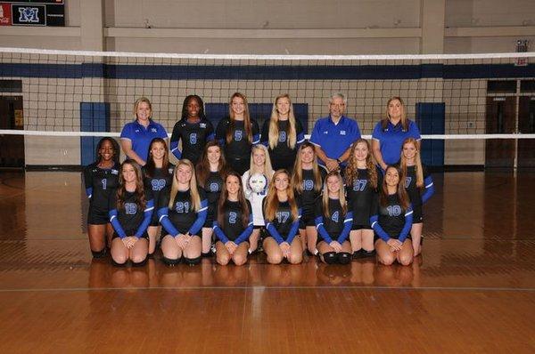 19-20 Varsity Volleyball Team