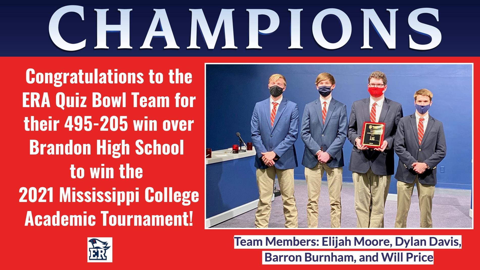 Mississippi College Academic Bowl Champions