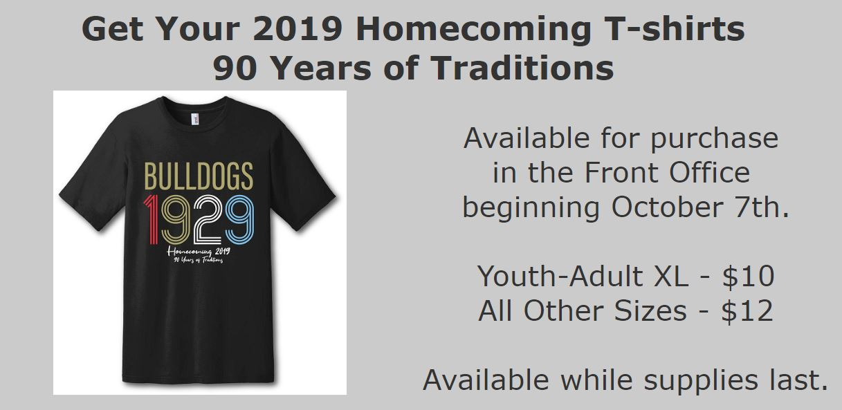 Homecoming T-Shirts for Sale