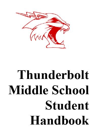 middle school handbook cover art