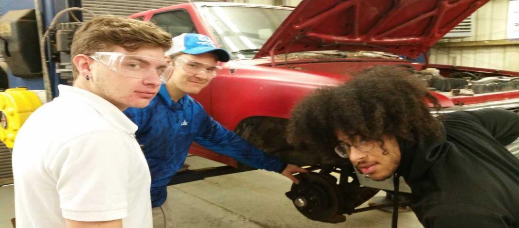 Mr. Thompson - Auto Mechanics -s