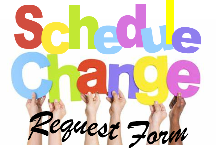 schedule request form