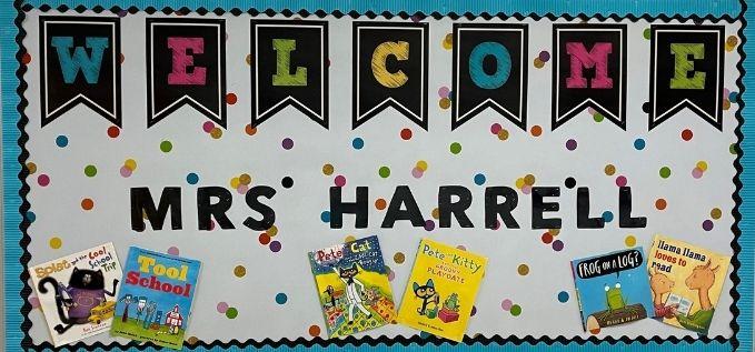 Welcome Mrs. Harrell