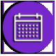 button with calendar icon