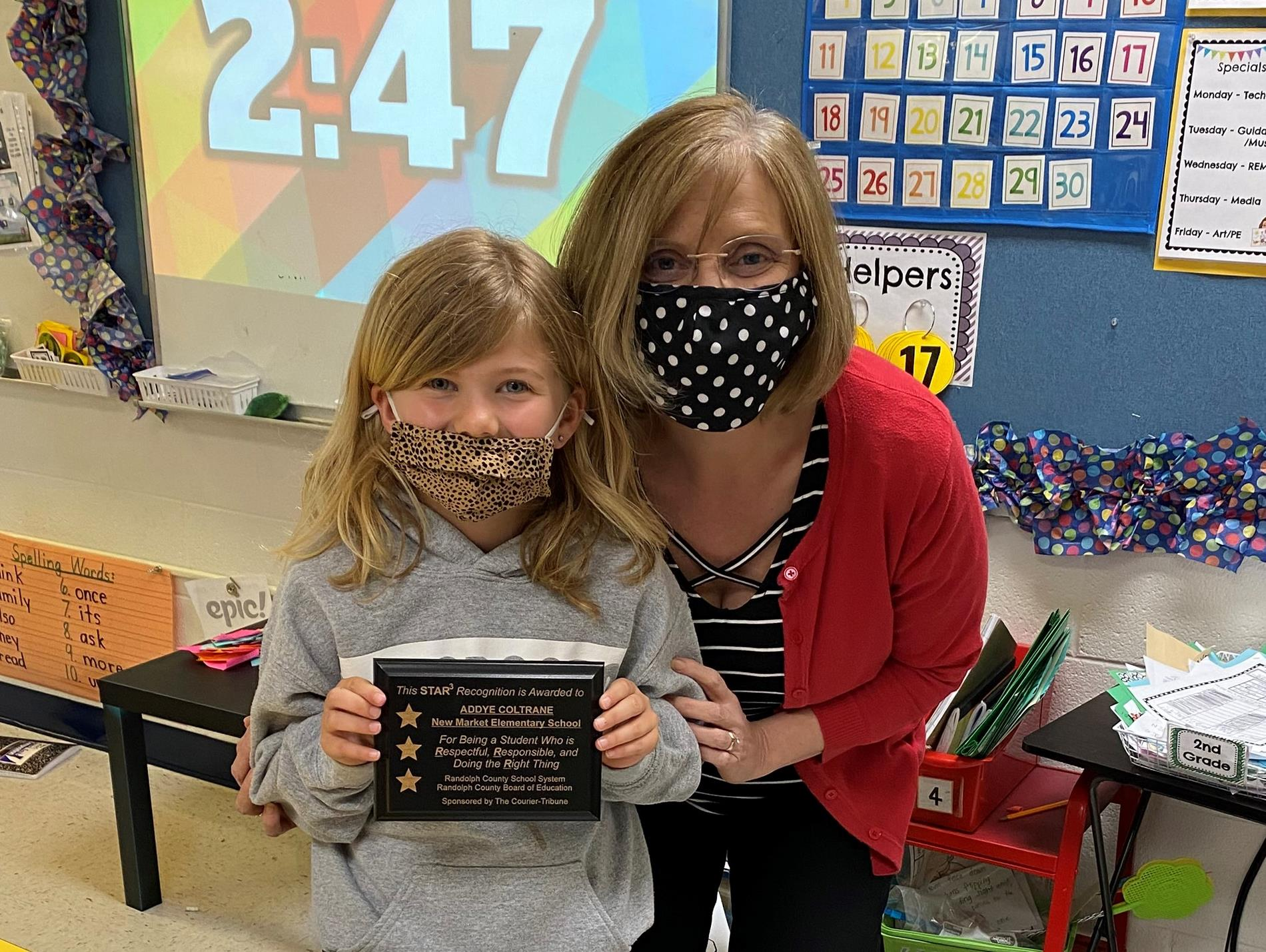 New Market STAR3 Student for March 2021