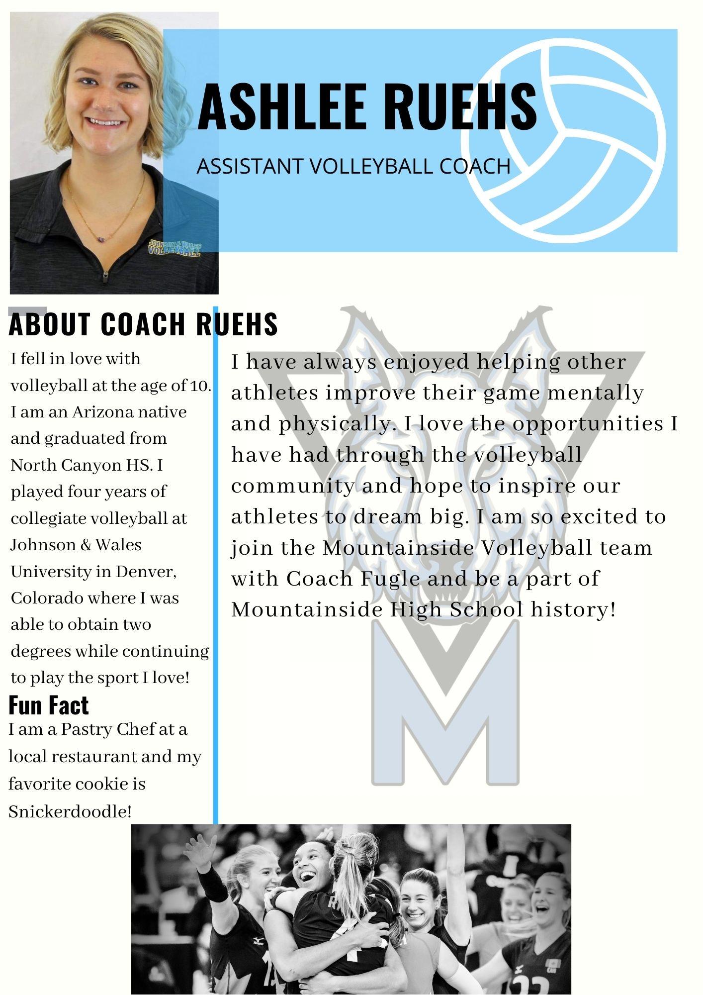 Meet Coach Ruehs