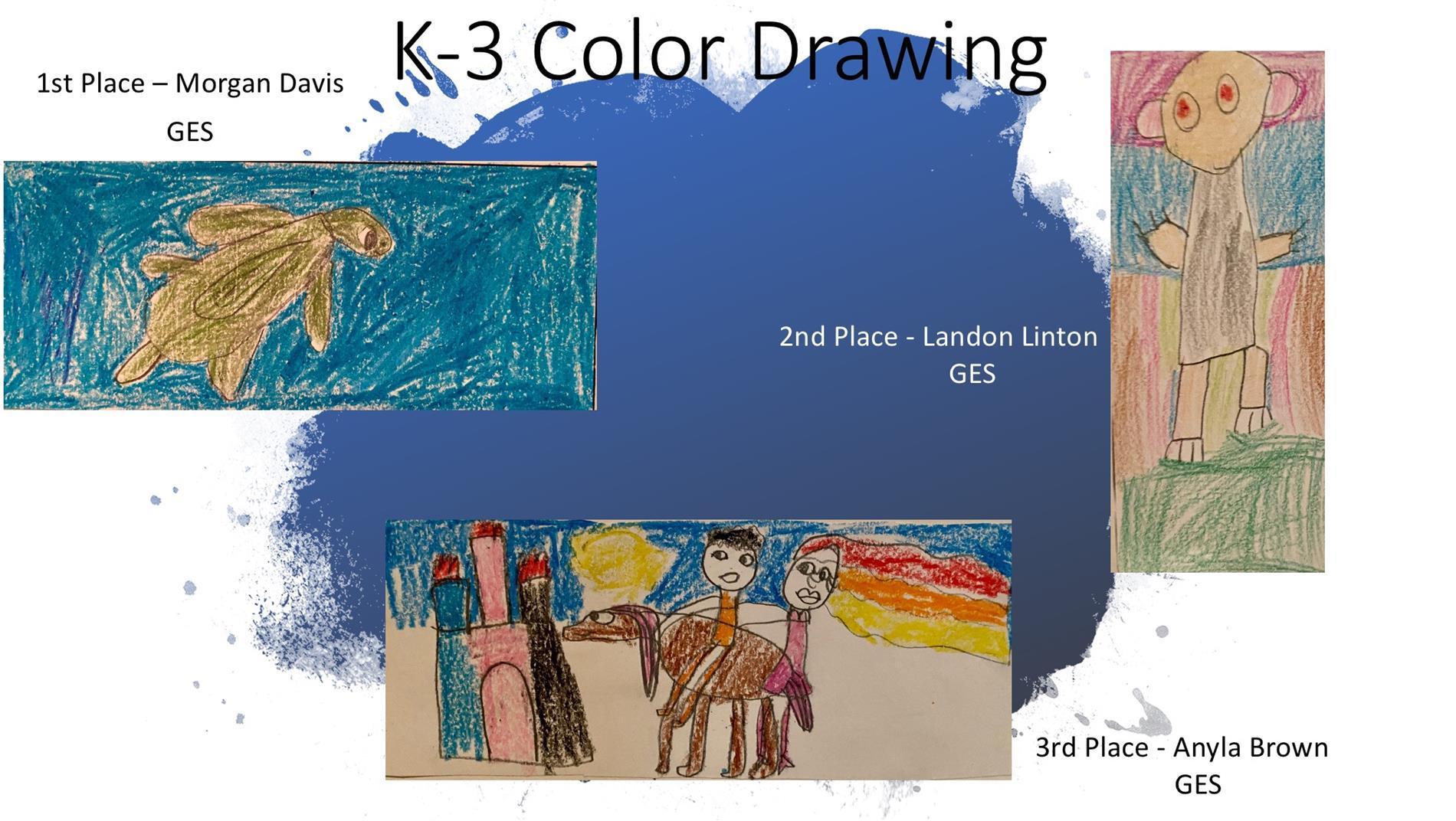 K-3 art