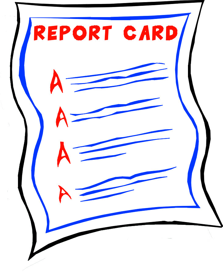 Report Card with all A's