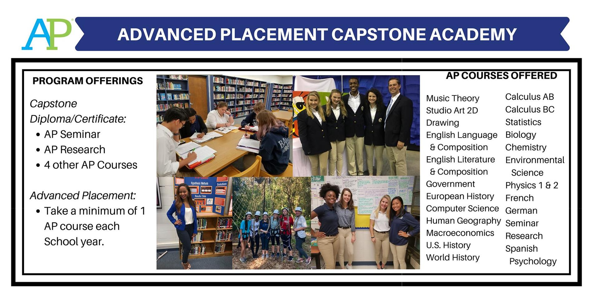 Baker High School Advanced Placement Capstone Academy