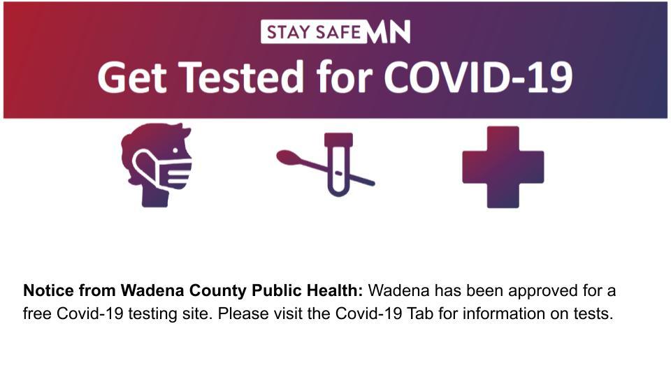 Wadena County Covid-19 Testing
