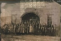 Cedar Hill School Approximately 1920