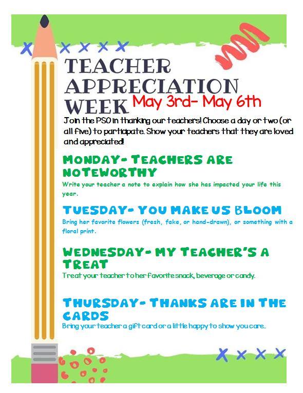 Teachers Appreciation