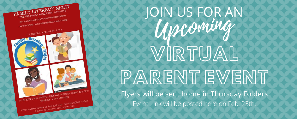 Upcoming Parent Event