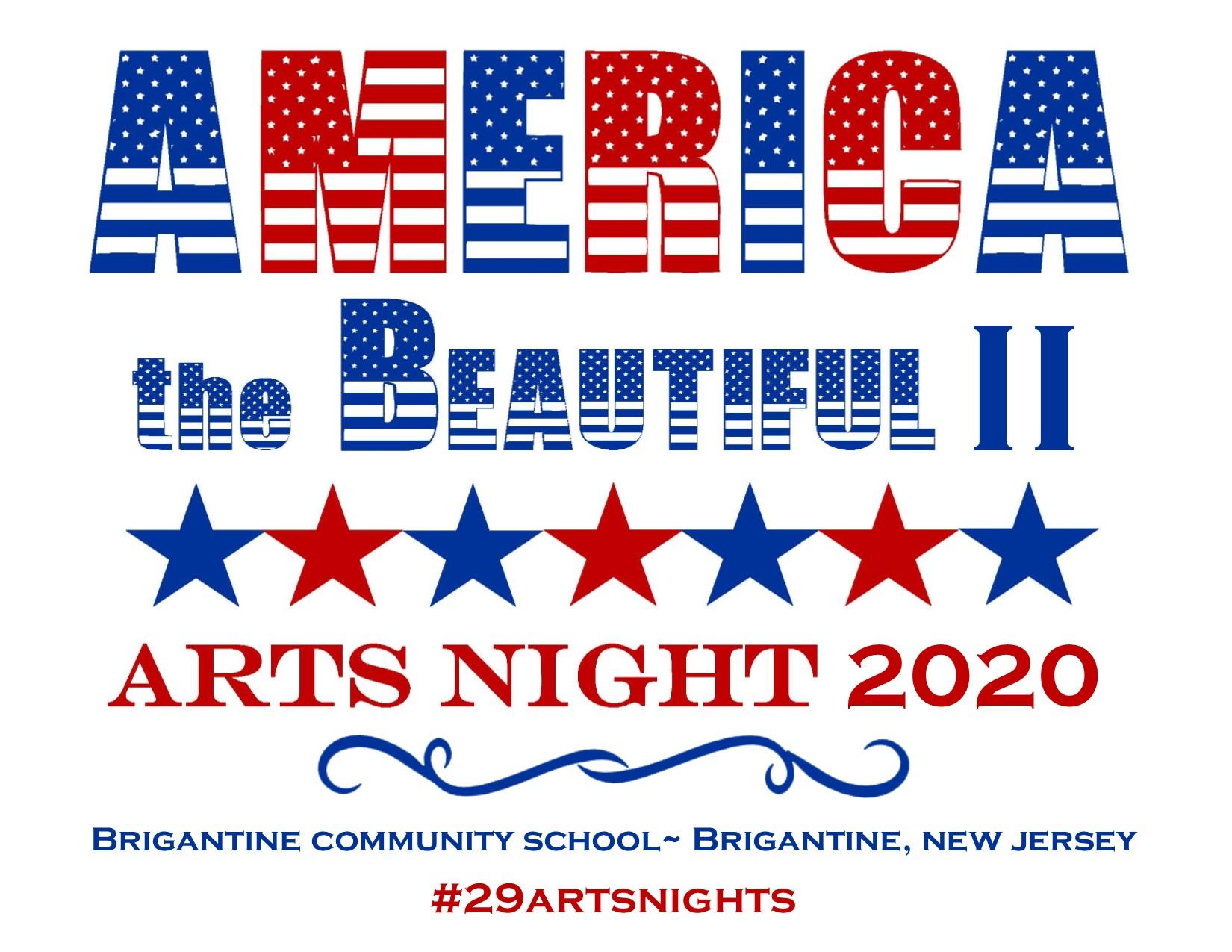Arts Night Website Logo