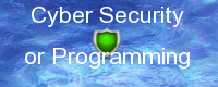 Cyber Security / Programming Application